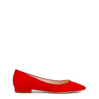 Hecho en Italia Original Mujeres Todo el Año Ballet Plano - Color Rojo 31228