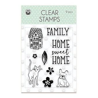 Piatek13 - Clear stamp set We are family 01 P13-FAM-30