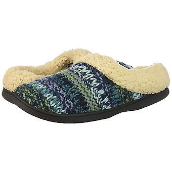 Dearfoams Women's Chunky Knit Clog Slipper