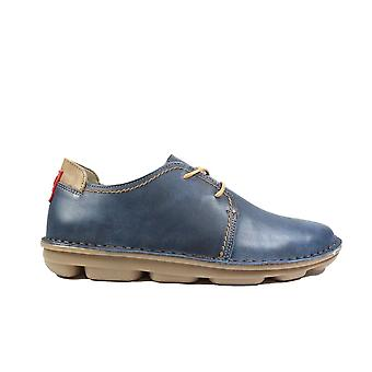 On Foot Blucher 7000 Navy Leather Mens Lace Up Shoes