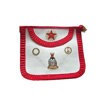 Leather masonic apron – french chapter – 4th order