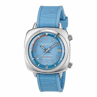 Briston 17642.S.D.18.RLB Clubmaster Diver Light Blue Wristwatch