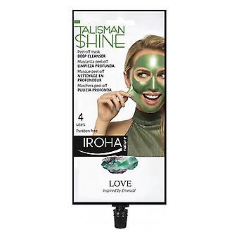 Facial Mask Peel Off Green Emerald Deep Cleanser Iroha