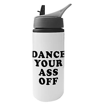 Footloose Dance Your Ass Off Aluminium Water Bottle With Straw