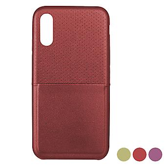 Mobiele cover Iphone X/xs KSIX Dots/Pink