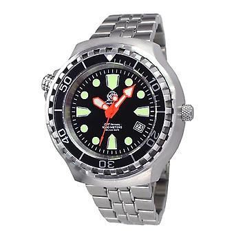 Tauchmeister T0245M Diver Craft automatisch horloge staal 1000m