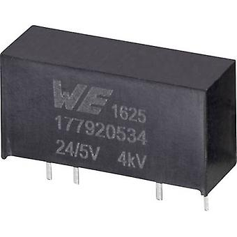Würth Elektronik 177920534 DC/DC-Wandler (Druck) 24 V 5 V 0,2 A 1 W Nr. der Ausgänge: 1 x