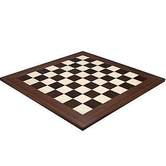 23.6 Inch Montgoy Palisander and Maple Deluxe Chess Board