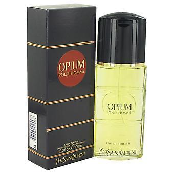 Opium Eau De Toilette Spray By Yves Saint Laurent 3.3 oz Eau De Toilette Spray