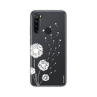 Hull For Xiaomi Redmi Note 8 Soft Pissenlit Flower
