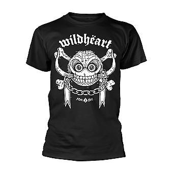 The Wildhearts For Life T-Shirt ufficiale da t-shirt uomo
