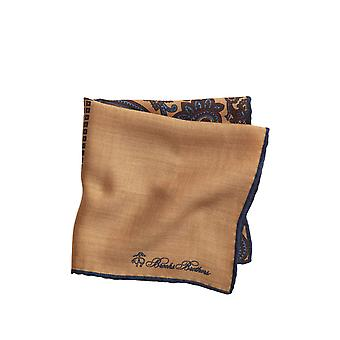 Brooks Brothers Menn's Lappeteppe Flanell Pocket Square