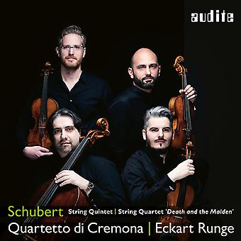 String Quintet & Quartet [CD] USA import