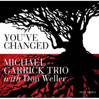 Garrick, Michael Trio & Don Weller - You'Ve Changed [CD] USA import