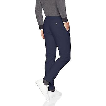 Essentials Men's Slim-Fit Casual Stretch Khaki, Marine, Größe 42W x 34L
