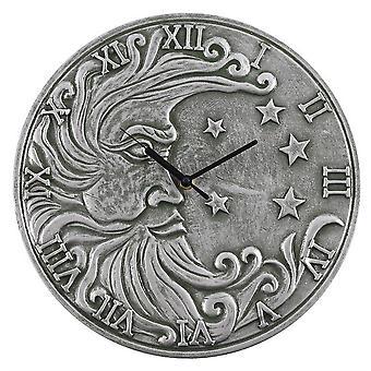 Terrakotta hopea vaikutus kuu kello