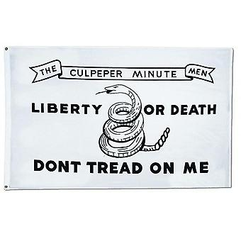 Don & apos;t Tread on Me Tea Party Rattle Snake Gadsden Flag