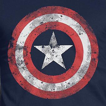 Captain America Mens Movie Shield T-Shirt