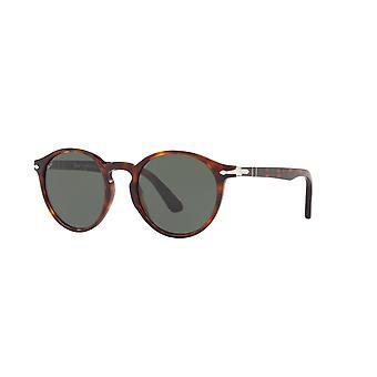 Persol PO3171S 24/31 Havana/Green Sunglasses