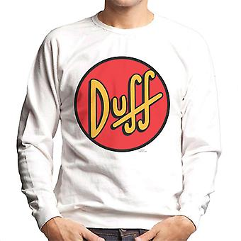 The Simpsons Duff Logo Men's Sweatshirt
