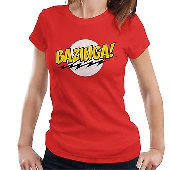The Big Bang Theory Bazinga Women's T-Shirt