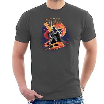 Star Wars Darth Vader Lightsaber Men's T-Shirt