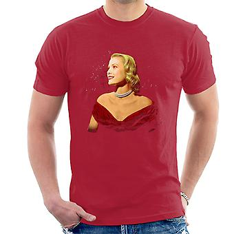 Grace Kelly Interview met Donald Zec Cannes Film Festival 1955 mannen T-Shirt