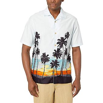 28 Palms Men's Relaxed-Fit 100% Coton Tropical, MultiColor, Taille X-Large