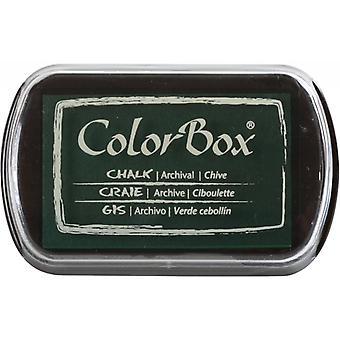 Clearsnap ColorBox Krita bläck Full storlek Gräslök