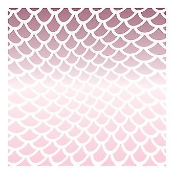 LDRS Sirena Creativa Shimmer 6x6 Pulgadas Plantilla