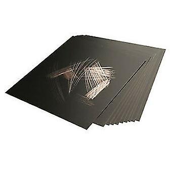 Essdee Gold Foil Scraperboard 152x101mm 10 Pack