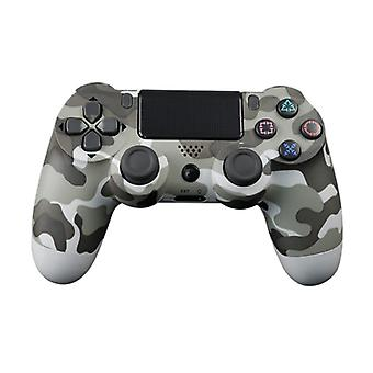Stoff zertifiziert® Gaming Controller für PlayStation 4 - PS4 Bluetooth Gamepad mit Vibration Gray Camo
