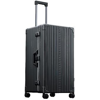 "ALEON internacional Trunk 30"" Trolley 4 ruedas, 43 cm, 84 L, Negro"