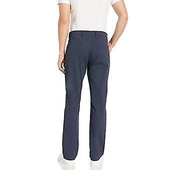 Brand - Goodthreads Men's Athletic-fit 5-Pocket Chino Pant, Navy, 36W x 28L