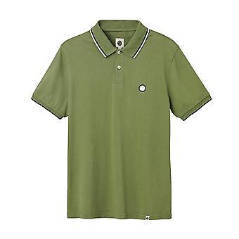 Pretty Green Barton Polo Shirt - Khaki-L