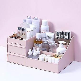 Large Capacity Makeup Organizer Cosmetic Storage Box For Desktop Jewelry Nail Polish Drawer Container
