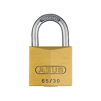 ABUS 65/30mm Brass Padlock Carded ABU6530C
