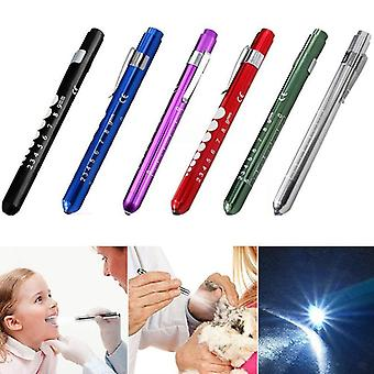 Portable Led Flashlight Work Medical First Aid Pen, Torch, Lamp With Pupil
