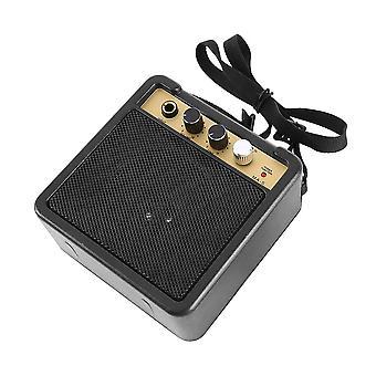 Mini Elektrisk Guitar Forstærker / højttaler med tilbage klip
