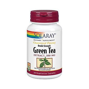 Solaray Green Tea Extract, 500 mg, 30 Caps