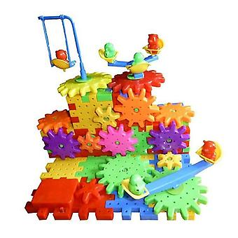 Plastic Blocks, 3d Puzzle Building Kits Toys Learning