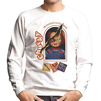 Chucky Han vill ha dig som en bästa vän Men' s Sweatshirt