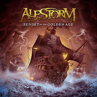 Alestorm - Sunset on the Golden Age [CD] USA import