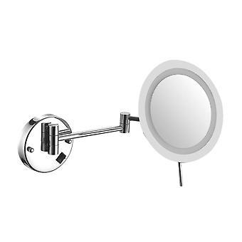 3x LED iluminado pared montada espejo cableado