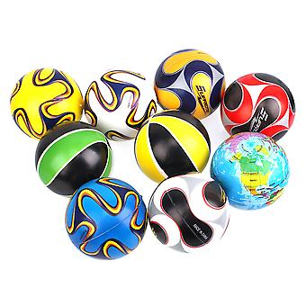 5pcs Squeeze Relaxable Toy Play Ball Soft Foam For Playing 3.9Inch Nice Gift