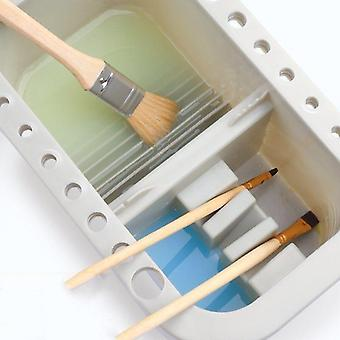 Mltifuctional Paint Brush Washer Buckets With Palette Drying Tool