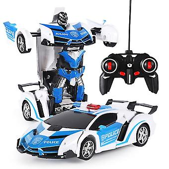 Wireless, Electric Remote Control-deformation Robot Toy