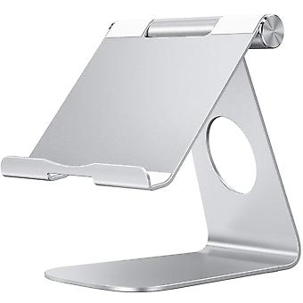 Omoton multi-angle tablet stand, with portable adjustable dock for ipad pro 11/12.9(2020/2018)/ipad