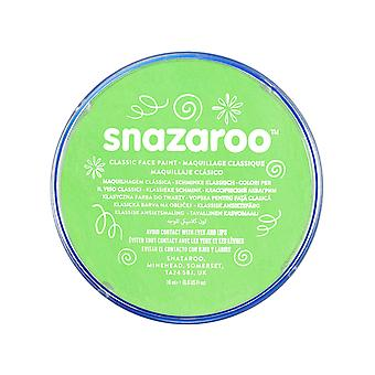Snazaroo face and body paint, 18 ml - lime green (individual colour) classic 18ml