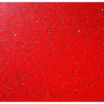 10 Sheets of A4 CHRISTMAS RED  Sparkle Card 300gsm